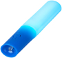 Sabre Flashlight in blue with light on