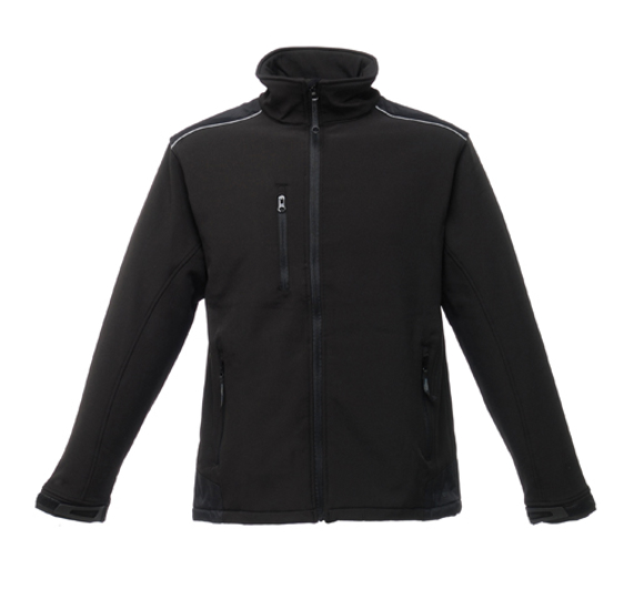 Sandstorm Workwear Softshell in black