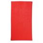 Tuva Beach Towel in red