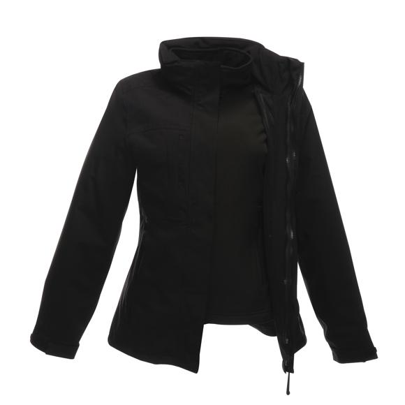 Women's Kingsley 3-in-1 Jacket in black