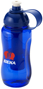 Ice Bar Sports Bottle in blue with 2 colour print logo