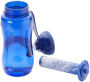 Ice Bar Sports Bottle in blue with ice pack