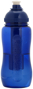 Ice Bar Sports Bottle in blue side view