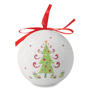 Pearl Christmas Bauble in full colour print
