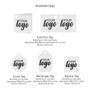 Valentines Organza Icon Bag tag options
