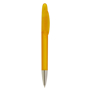 Hudson Biodegradable Frosted Pen  in yellow