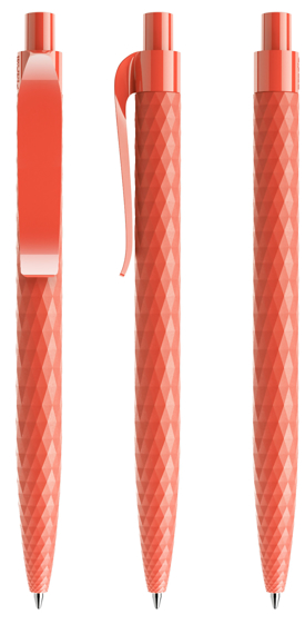 QS01 Touch patterned pen in red