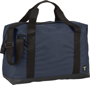 "Day 17"" Duffel Bag in navy with black straps"