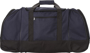 Nevada Travel Bag in navy with black details front view