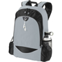 """Benton 15"""" laptop Backpack in grey and black"""