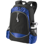 """Benton 15"""" laptop Backpack in black and blue"""