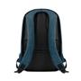 Berlin Charging Laptop Rucksack in blue showing back of bag