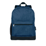 Bapal Tone RFID Rucksack in navy with black details