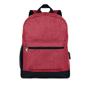 Bapal Tone RFID Rucksack in red with black details