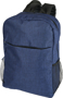 "Heathered 15"" Laptop Backpack in blue"