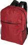 "Heathered 15"" Laptop Backpack in red"