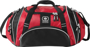 Crunch Duffel Bag in red and black with white details