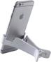 Dock Media Clip in white with phone in