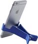 Dock Media Clip in blue with phone in