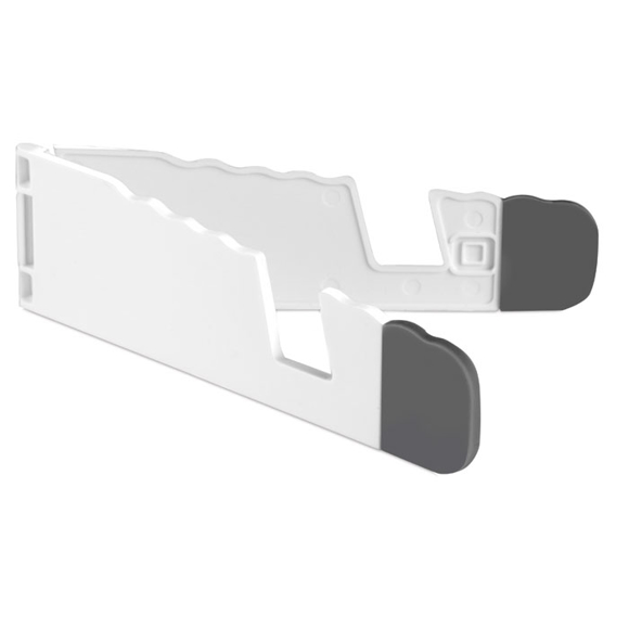 Standol Phone Holder in white and grey
