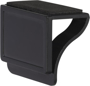 Clip-on Webcam Blocker with Screen Cleaner in black