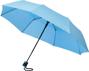 """21"""" foldable auto open umbrella in light blue"""