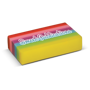 Rainbow Eraser with 1 colour print logo