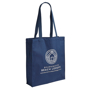 Illustrious Canvas Bag in navy with 1 colour print