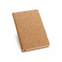 Cork pad with black book mark
