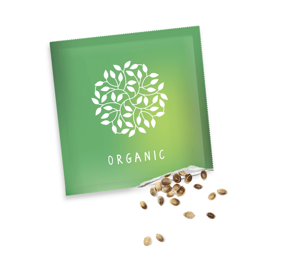 Eco Seeds Packets with full colour print