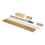 Eco Friendly 6 Piece Stationary Set showing what is included