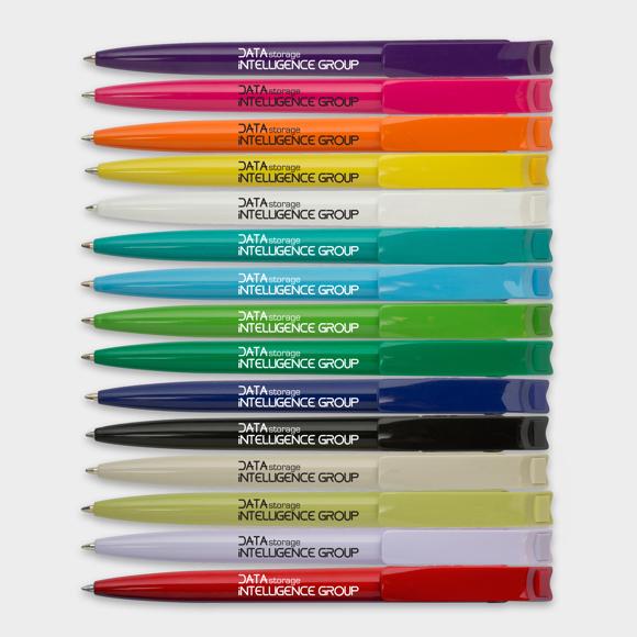Litani Pen in 15 different colours with 1 colour print