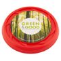 Recycled Frisbee in red with full colour print