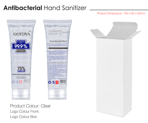 Picture of Antibacterial Hand Sanitiser