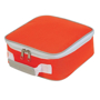Cooler Lunch Box Bag in orange and white
