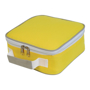 Cooler Lunch Box Bag in yellow and white
