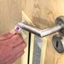 hygiene hook opening door handle