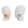 uk made face mask rainbow design