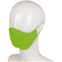 Triple Layer Cotton Face Mask in green