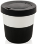 Individually Personalised Coffee Cup in black and white