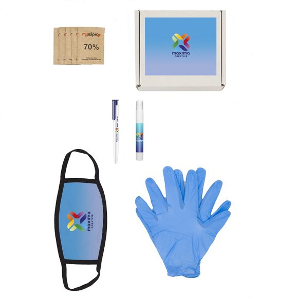 5 Piece Hygiene Kit showing contents