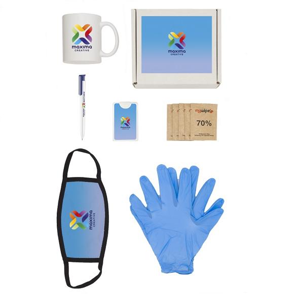 6 Piece Hygiene Kit showing contents