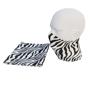 Childrens Snood with zebra print