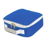 Cooler Lunch Box Bag in blue and white