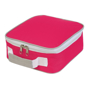 Cooler Lunch Box Bag in pink and white