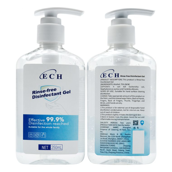 Picture of Hand Sanitisers - 250ml