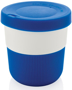 Individually Personalised Coffee Cup in blue and white