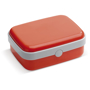 Lunch Box in reed with white trim