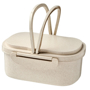 Wheat Straw Fibre Lunch Box in natural