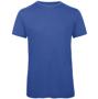 B&C Triblend Men's T-Shirt in blue